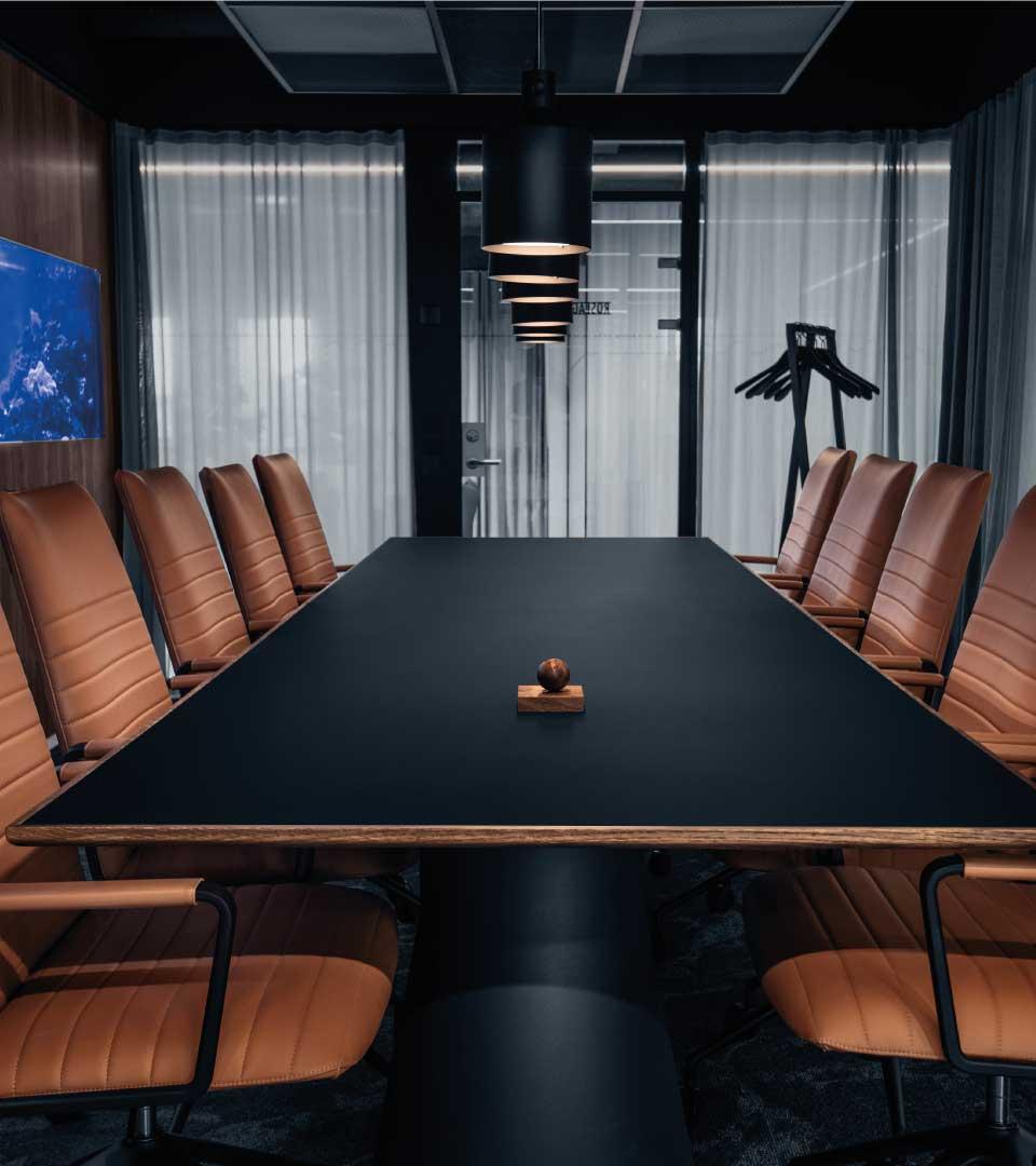 Exklusivt konferensrum på Heima kontorshotell